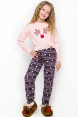 Medvilninė pižama mergaitei, VPI-090