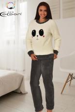 Šilta, minkšta ir švelni pižama PANDA, DPI-157