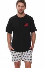 Vyriška medvilninė pižama su šortais OVS-052