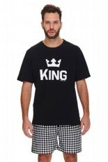 Vyriška medvilninė pižama su šortais, KING, OVS-055