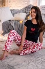 Medvilninė Sensis pižama, HUG YOUR HEART, DPI-208